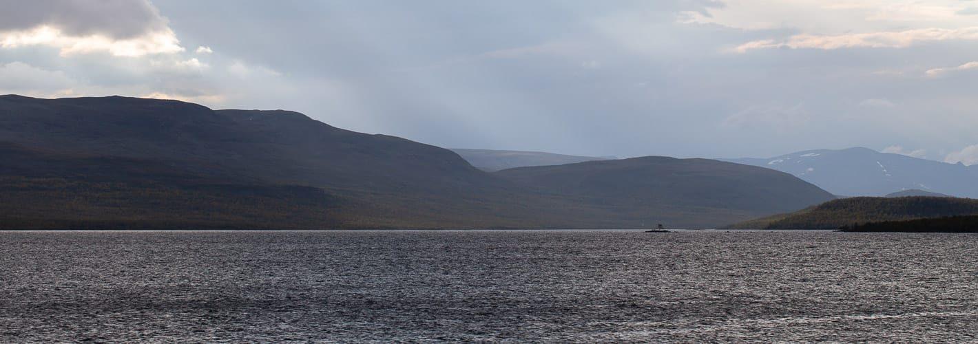 Microworld 1.1 — Island lake Kilpisjärvi